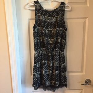 NWT Gentle Fawn Batik Dress Patterned with Lace